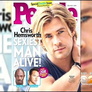 Chris Hemsworth Named People Magazine's 'Sexiest Man Alive'