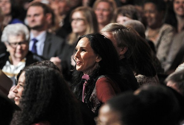 Is seen in the audience during the White House Music Series sal…