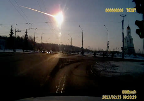 Meteor That Hit Russia Part of Bigger Asteroid Family