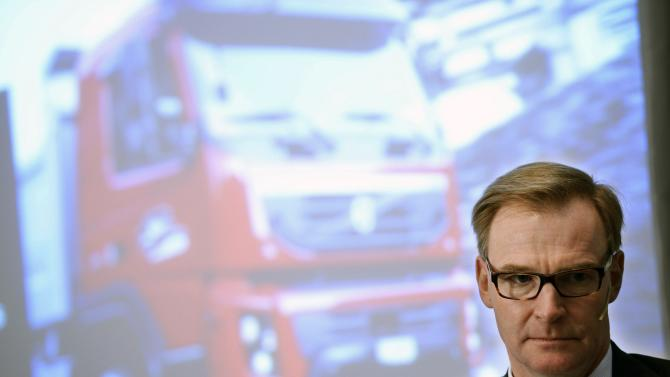Volvo truck sales and profits plunge in Q4