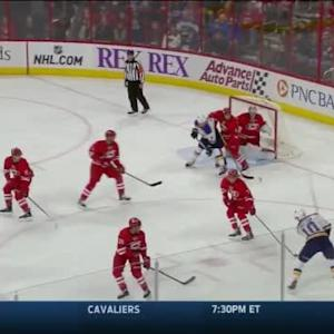 Cam Ward Save on Joakim Lindstrom (14:31/1st)