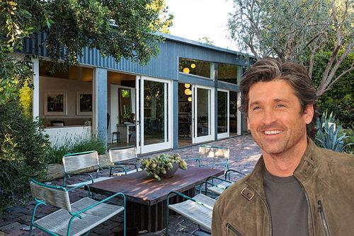 Celebrity Real Estate: Patrick Dempsey Selling His Metal-Clad Frank Gehry House in Malibu for $14.5M