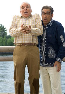 Steve Martin and Eugene Levy in 20th Century Fox's Cheaper by the Dozen 2