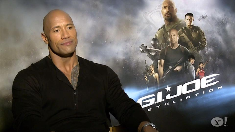 'G.I. Joe: Retaliation' Insider Access: The Rock