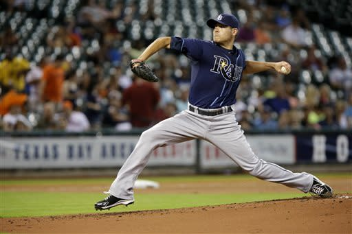 Tampa Bay's Moore dominates Astros in 12-0 win