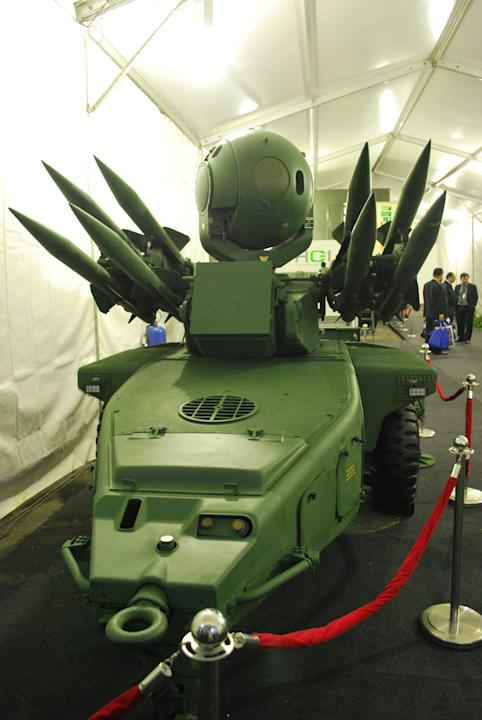 Jernas anti-aircraft weapon