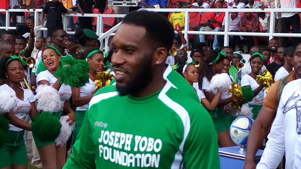 WATCH: 'Jay Jay' Okocha leaves Eto'o intimidated as Nigeria fans want legend out of retirement