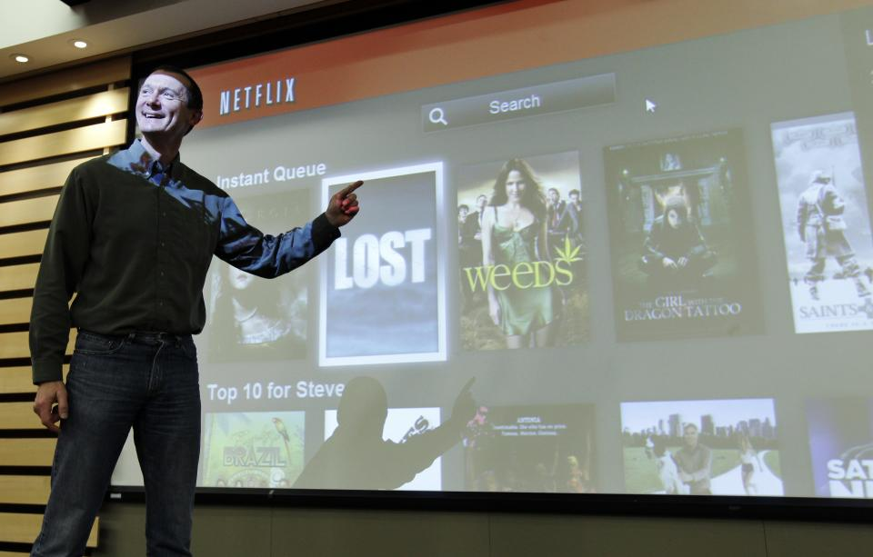 Gaps in Netflix's online library likely to persist