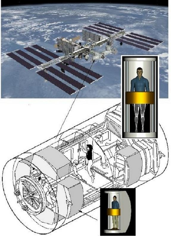 New, Compact Body Scanner Ready for Space Station