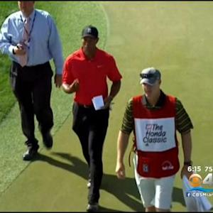 Tiger's Status For Doral Is Unknown