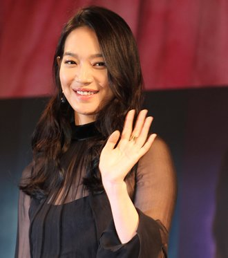 Shin Min-a mixes beauty and nature