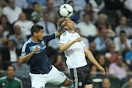 Fehlstart in die neue Saison: Die DFB-Elf hat in Frankfurt gegen Argentinien mit Weltfuballer Lionel Messi deutlich mit 1:3 (0:1) verloren. Der deutsche Torwart Ziegler war in der ersten Hlfte vom Platz gestellt worden