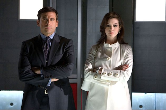 Warner Brothers Get Smart 2008 Steve Carell Anne Hathaway