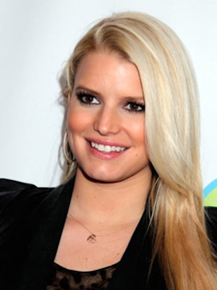 Jessica Simpson before her slim down