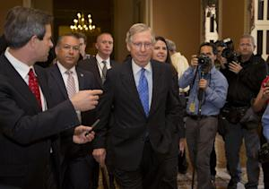 Senate Minority Leader Sen. Mitch McConnell, R-Ky., …