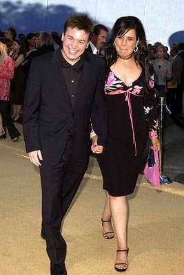 Mike Myers and wife Robin Ruzan at the LA premiere of New Line's Austin Powers in Goldmember