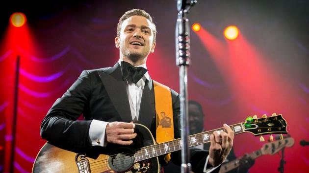 Justin Timberlake performs at DIRECTV Super Saturday Night Featuring Special Guest Justin Timberlake & Co-Hosted By Mark Cuban's AXS TV on February 2, 2013 in New Orleans  -- Getty Premium