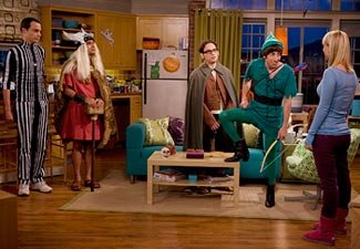 The 'Big Bang' nerds got into the Halloween spirit (CBS/Warner Bros. Television)
