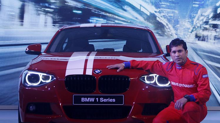 Sachin Tendulkar Unveiled BMW 1-Series Hatchback