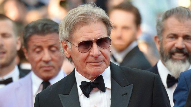 Harrison Ford on May 18, 2014 -- Getty Images