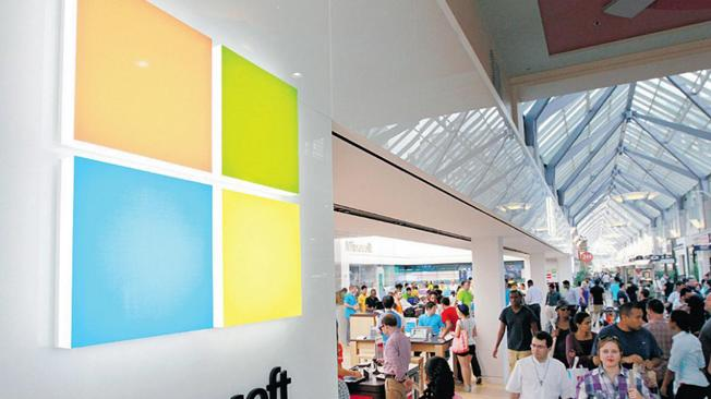 Microsoft's massive Windows 8 push includes opening 32 'pop-up' shops this year