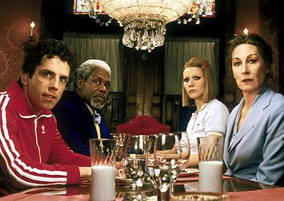 Ben Stiller , Danny Glover , Gwyneth Paltrow and Anjelica Huston in Touchstone's The Royal Tenenbaums