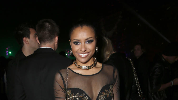 Kat Graham attends the 4th Annual Social Media Rock Stars Summit, on Friday, February, 8, 2013 in Los Angeles(Photo by Todd Williamson/Invision for Billboard Magazine/AP Images)