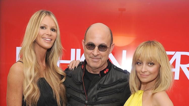 Elle McPherson, John Varvatos, and Nicole Richie