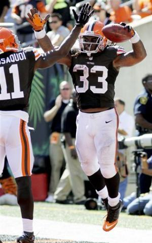 Bengals overcome Browns rookies for 34-27 win