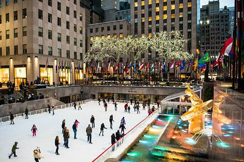 Ice Skating in NYC Will Kick Off This Weekend—Yes, This Early