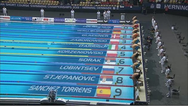 Swimming - Lobintsev takes 400m freestyle gold