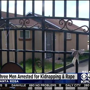 3 Arrested In Connection With Rape, Holding Woman Hostage For Months In Santa Rosa Home