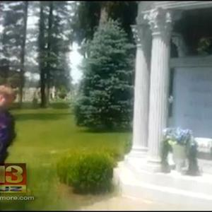 Browns Fan Posts Video Of Himself Urinating On Art Modell's Grave