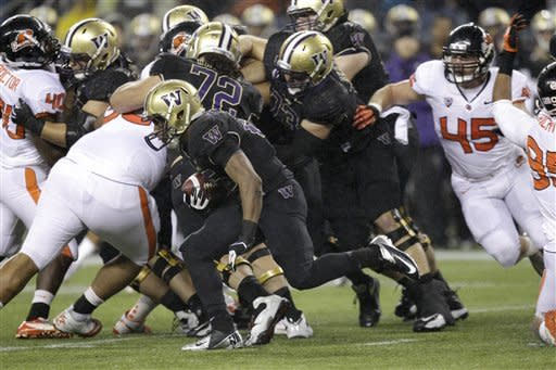 Washington upsets No. 7 Oregon State 20-17