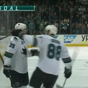 Logan Couture Goal on Jonathan Quick (10:44/1st)