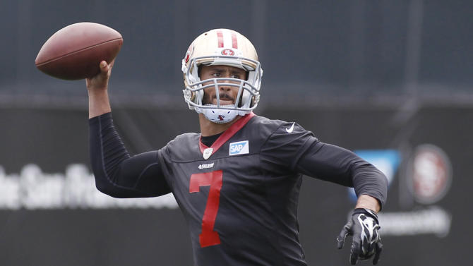 49ers QB Kaepernick apologizes for Houston storm post