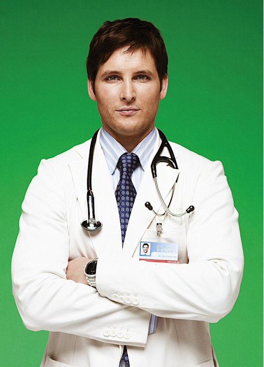 Peter Facinelli as Dr. Cooper in &quot;Nurse Jackie.&quot; 