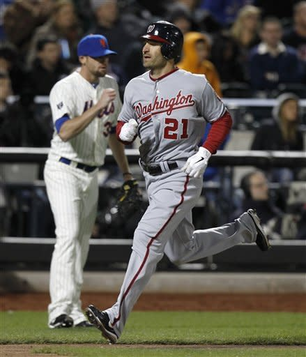 Detwiler shines, helps Nats give Mets 1st loss