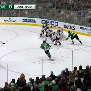John Gibson Save on Jamie Benn (10:42/2nd)