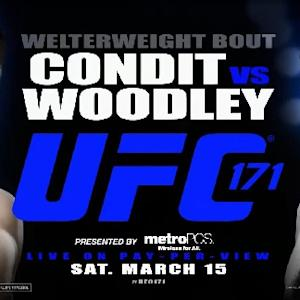 UFC 171: Condit vs. Woodley Preview