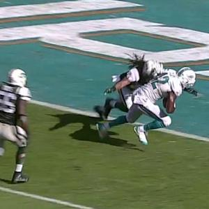 Miami Dolphins quarterback Ryan Tannehill fires 23-yard TD to Charles Clay