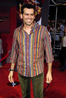 Oded Fehr at the Hollywood premiere of Disney and Pixar's The Incredibles
