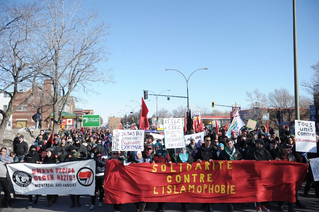 European anti-Islam group's Canadian protest fizzles