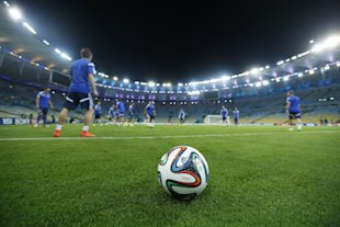 The Brazuca already has a Twitter following of over 2 million. No joke. (AP)