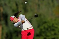 Amateur player Ariya Jutanugarn of Thailand plays in California in March of 2012