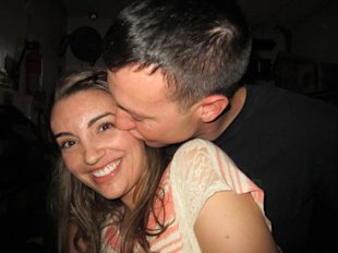 The author is planning a January 2013 wedding in California with her fiance, who is currently stationed in Afghanistan.