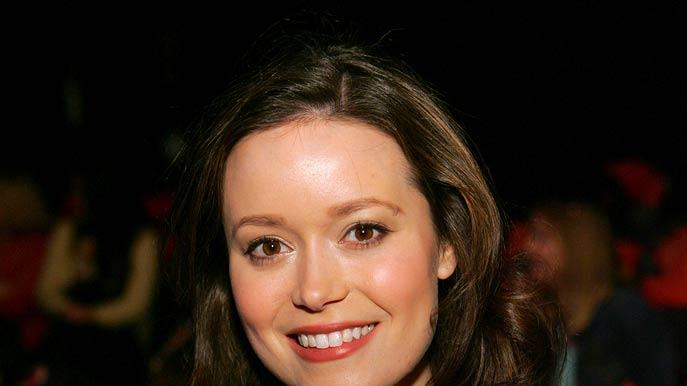 Summer Glau at the Mercedes-Benz Fall 2006 L.A. Fashion Week at Smashbox Studios - Sue Wong.