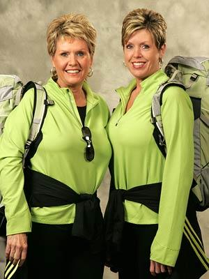 Sisters Lisa and Joni CBS' The Amazing Race 9