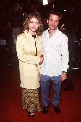 Premiere: Deborah Kaplan and Breckin Meyer at the Westwood premiere of Columbia's Cruel Intentions - 2/25/1999