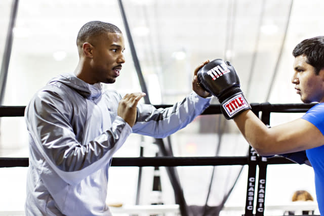 Michael B. Jordan And Jordan Brand Team Up For 'Creed' Training Experience